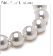 White South Sea Pearl Necklaces