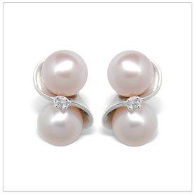 Alena a Freshwater Cultured Pearl Earring