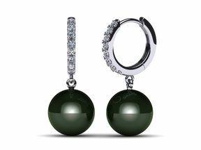 tahitian-pearl-earring-diamond-medium-huggie-black-cultured-pearl-south-sea