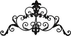 Decorative Wrought Iron Arch #2