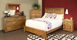 San Felipe Rustic Bedroom Furniture Set