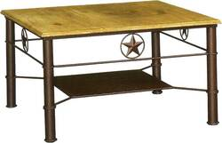 Star Iron Cocktail Table