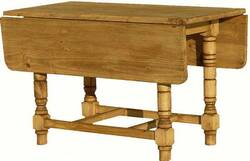 Boquilles  Pine Wood Folding Table