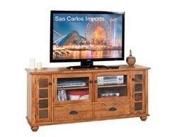 "Arizona Rustic Oak 72"" TV Stand"