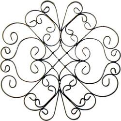 Wrought Iron Wall Plaque