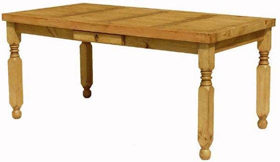 Lyon Rustic Pine Dining Table
