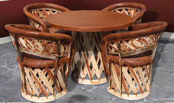 Equipale Table and Chairs Set
