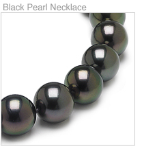 Tahitian Black South Sea Pearl Necklaces