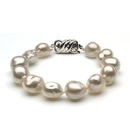 10 x 12mm South Sea Pearl Bracelet Baroque