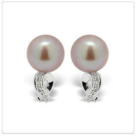 Levi Freshwater Cultured Pearl Earring