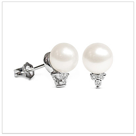 Little Princess Japanese Akoya Cultured Pearl Earring