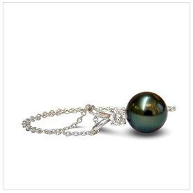 9mm Tahitian Cultured Pearl Pendant