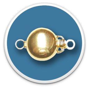 14K Yellow Gold Golden Circle Clasp