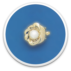 Pearl Clasp Style 1335