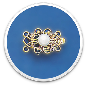 Pearl Clasp Style 2300