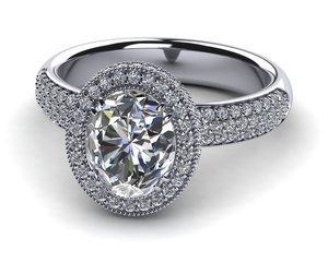 Princess Diana Diamond Engagement Ring