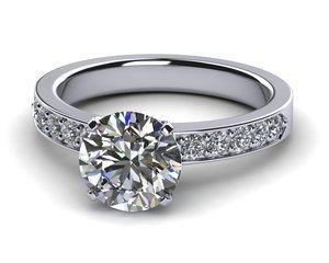 Neo Diamond Ring .30 carats t.d.w.