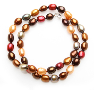 8mm Candy Color Pearl Choker