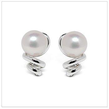 Mirabella a Japanese Akoya Cultured Pearl Earring
