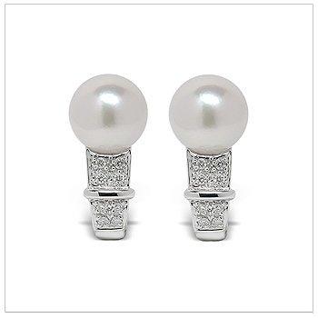 Olympia a Japanese Akoya Cultured Pearl Earrings