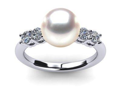 Japanese Akoya Pearl Rings