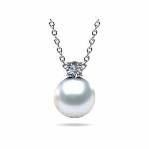 South Sea Pearl & Diamond Timeless Pendant