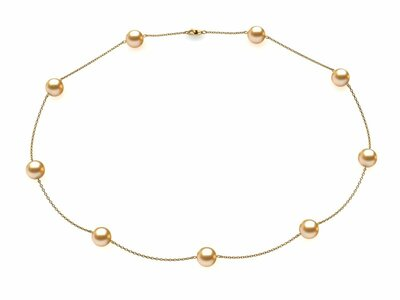 Tin Cup Golden Necklaces