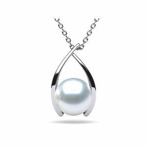 White South Sea Pearl Classic Wish Pendant