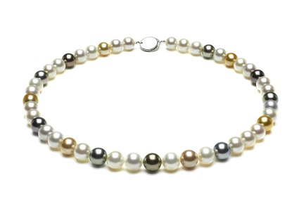 Multicolor Golden Necklaces