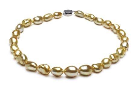 Baroque Golden Necklaces