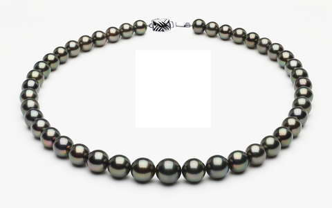 Tahitian Pearl Necklace Serial Number   11-7mmto8-1mm-tahitian-south-sea-pearl-necklace-true-aaa-16inch-s8-xb04343-b33
