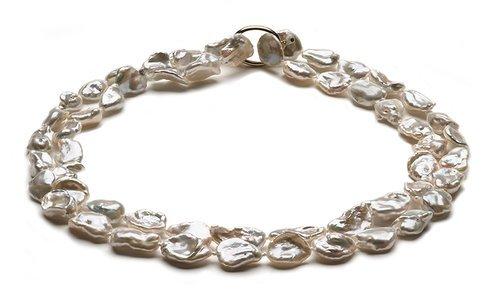 Keshi Opera Pearl Necklace