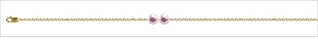 AAA Quality Add Pearl Necklaces—2 Pearl