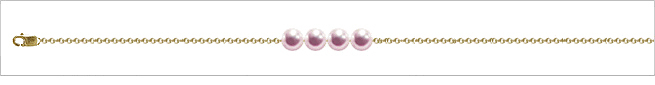 AAA Quality Add Pearl Necklaces—4 Pearl