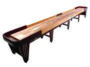 20' Champion Vintage Charleston Shuffleboard Table