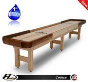 9' Hudson Cirrus Shuffleboard Table