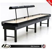 9' Hudson Octagon Shuffleboard Table