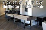Shuffleboard Tables By Size | 9' - 22' Shuffleboards