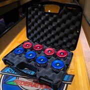 Shuffleboard Weight Cases - Single Set