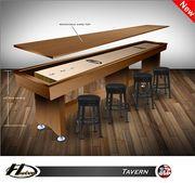 18' Hudson Tavern Style Shuffleboard Table