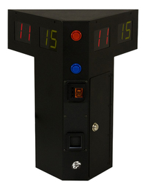 Eagle Triangle Coin-Operated Shuffleboard Table Scoreboard