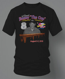Jimmy The Cop Memorial Shuffleboard Tournament T-Shirt