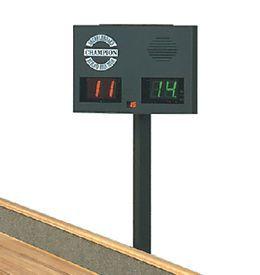 Champion Triangle Shuffleboard Table Scoreboard
