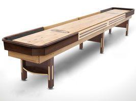 Grand Hudson Deluxe Hybrid Shuffleboard Table