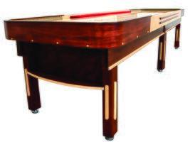 Venture Shuffleboard Cushion Style Shuffleboard Tables