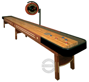 12' Grand Champion Shuffleboard Table