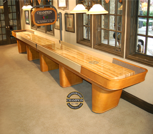 20' Champion Capri Shuffleboard Table