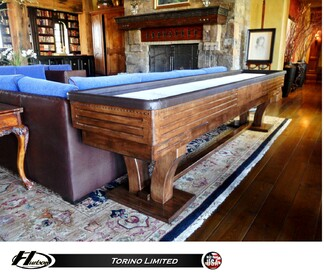 14' Hudson Torino Limited Shuffleboard Table