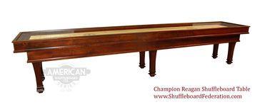 22' Champion Reagan Shuffleboard Table