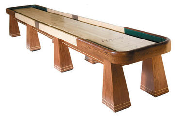 12' Saratoga Shuffleboard Table